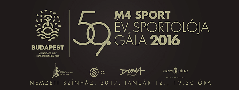 DUNA organizes the Sportsman of the Year Gala again!
