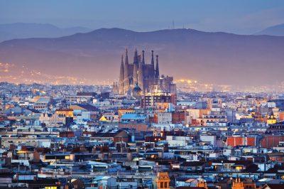 Barcelona, tengerpart, foci