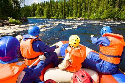 Rafting Szlovéniában